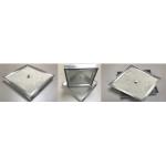 Люк напольный 50*50 Премиум-ГВЛ, под плитку, съемный, резиновое уплотнение