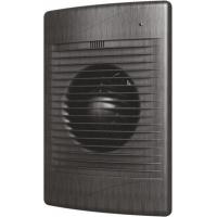 Вентилятор СТАНДАРТ 4С black AL (D=100, V=100m3/h). обр. клапан