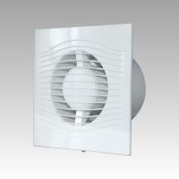 Вентилятор SLIM 4C MR (D=100, V=90m3/h) с контроллером Fusion Logic и обр.клапаном, малошумящий 25дБ