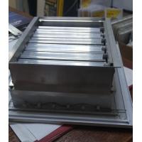 Решетка регулируемая АМР 300*200 однорядная с клапаном расхода воздуха