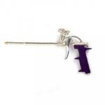 Пистолет д/монт пены 007 (усиленная ручка) 1шт, фиолетовый