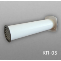 Клапан приточный 12,5КП-05, Д=125 (12,5РКМ+12,5ВП+12,5АПП)