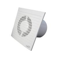 Вентилятор Е100 S C c антимоскитной сеткой и обратным клапаном  (D=100, V=90m3/h)