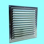Решетка стальная 2525 РМЦ, вентиляционная оцинкованная с сеткой 250х250