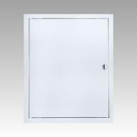 Люк-дверца 35*35 ЛР, с ручкой, ревизионный, АБС -пластик
