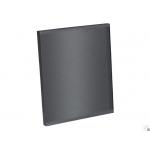 Лицевая панель 100 PTGB-M, стекло черный матовый TRAX, Awenta