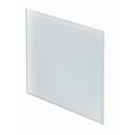 Лицевая панель 125 PTG, стекло белый TRAX, Awenta