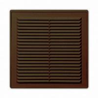 Решетка 1515Р кор, разъемная вентиляционная с сеткой 150х150