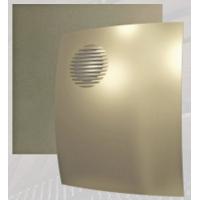 Вентилятор ПАРУС 4С champagne (D=100, V=90m3/h), обр.клапан