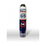 Пена Tytan Professional 65 UNI, профессиональная под пистолет, летняя, 750мл, вес 1000г