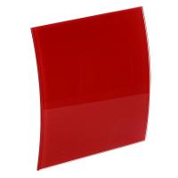 Лицевая панель 100 PEGR-P, стекло красный глянец ESCUDO 160х160, Awenta