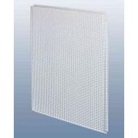 Потолочнаяе кассета 60х60 см., просечно-вытяжная сетка, для подвесного потолка, металл.,белая