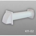 Клапан приточный 16КП1-02-1000, Д=160 (1919К15.16ФВ+16ВП1+16АПП)