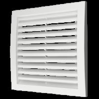 Решетка 2525РРН разъемная вентиляционная наружная, 250х250, ASA-пластик