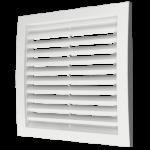 Решетка 3535РРН разъемная вентиляционная наружная, 350х350, ASA-пластик