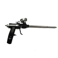 Пистолет для монтажной пены 003 (металлическая ручка, черная)