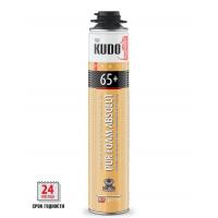 Пена KUDO PROFF 65+ ABSOLUT полиуретановая монтажная