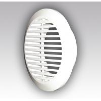 10РКФ, Решетка вентиляционная круглая, разъемная D145 с фланцем D100