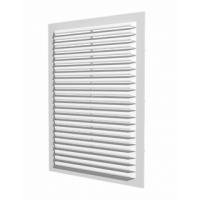 1724С бел, Решетка вентиляционная с сеткой 170х240