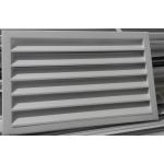 Жалюзийная решетка АРН 580*590 , наружная встраиваемая, RAL1014